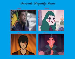 Favorite Royalty Members by DukeNukaCola
