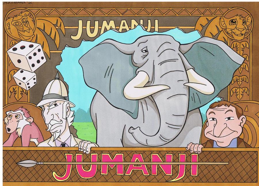jumanji by sprucehamme... Jumanji Board Game