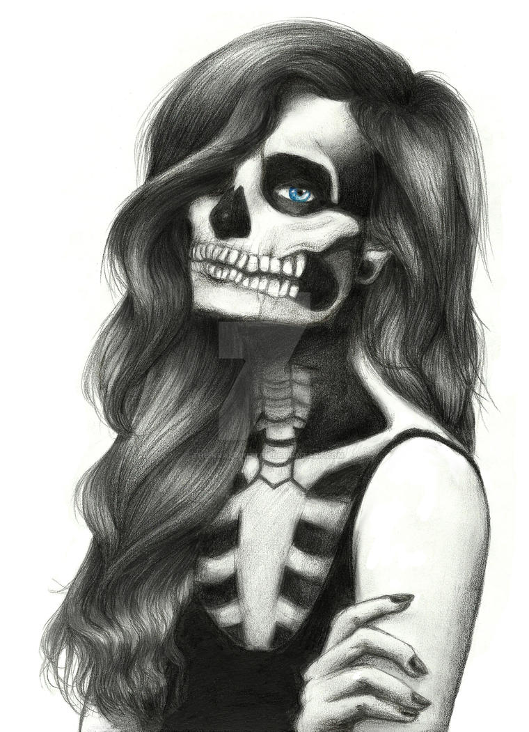 Sugar Skulls Have Never Been Sweeter by The-Krazy-Kitten