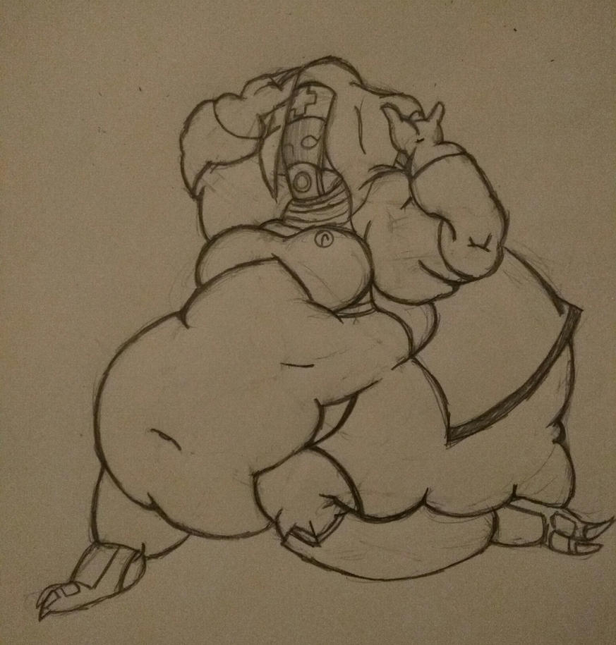 Fat quarian request by fanayr