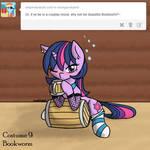 Socky Pocky Cosplay #9: Bookworm (Ask Pirate Dash)