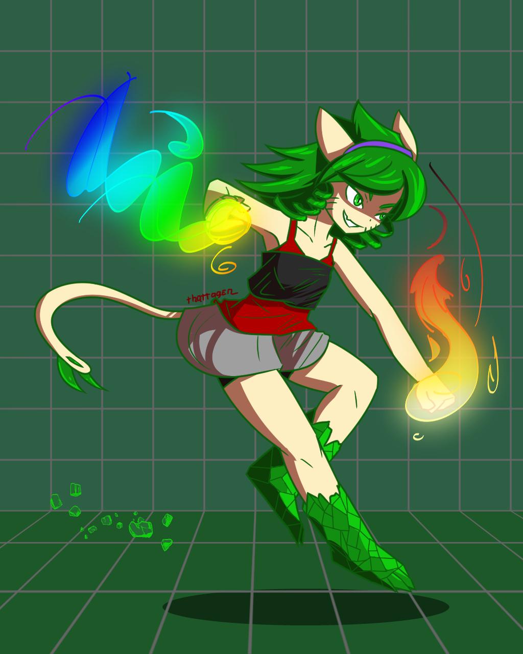 Boki - Alternate Outfit