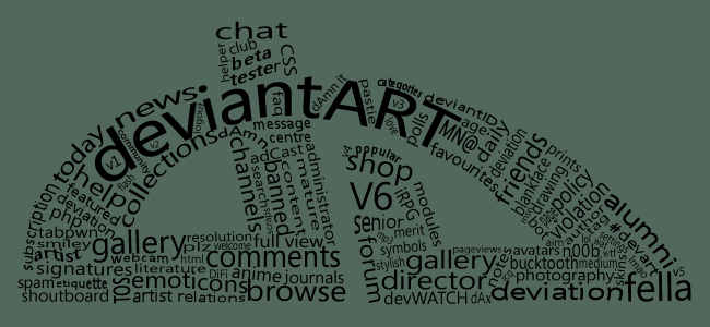 deviantART by frozenpandaman
