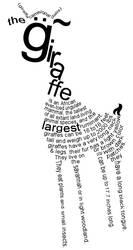giraffe by frozenpandaman