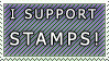 I Support Stamps by frozenpandaman