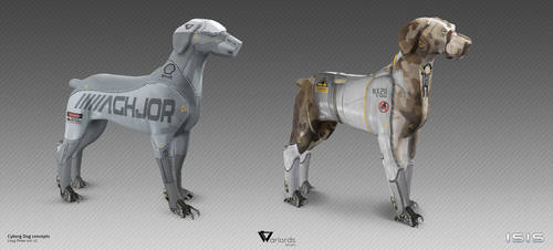 ISIS-CyberDogs concept by Long-Pham