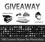 Free Custom Shapes for Photoshop