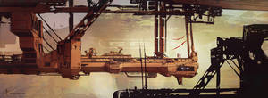 Sci Fi Cityscape by Long-Pham
