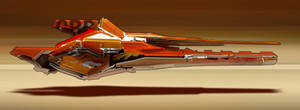 Orange Racer by Long-Pham