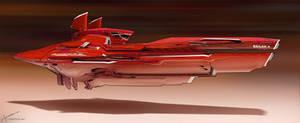 Racer ship - Red