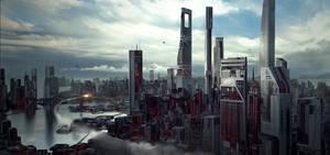 Scifi Cityscape