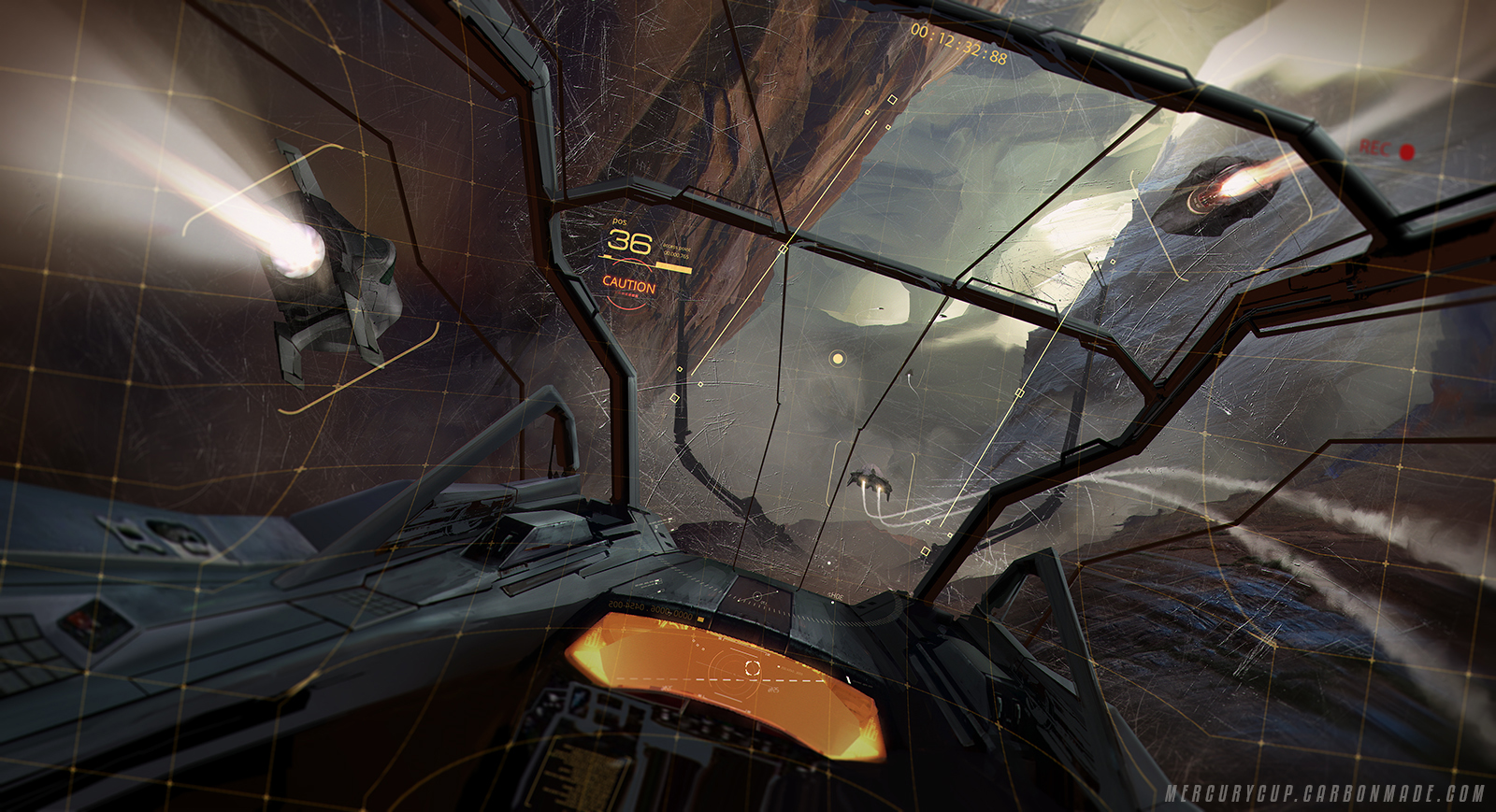 Cockpit View By Long Pham On Deviantart