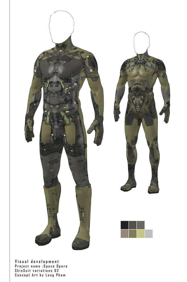 VisDev SpaceOpera Skinsuit2 by Long-Pham