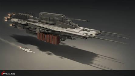 Cargo Ship by Long-Pham