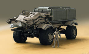 Drone truck