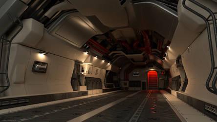 Transport Interior - Modo Render by Long-Pham