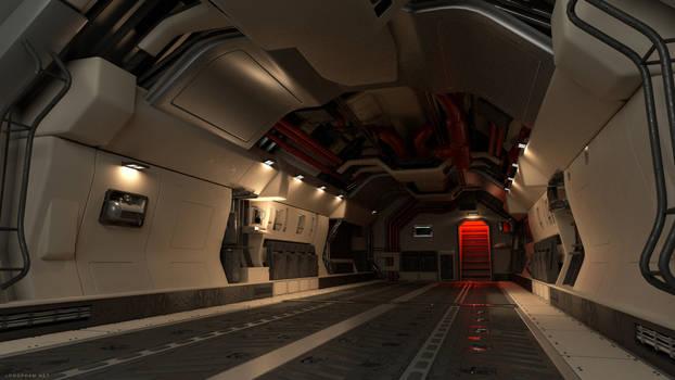 Transport Interior - Modo Render