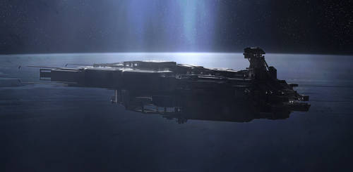 Parked in orbit by Long-Pham