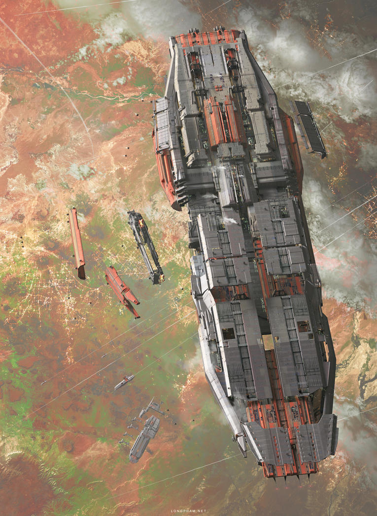 Spaceboat by Long-Pham