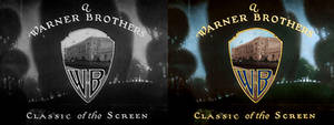 Warner Brothers Pictures 1923 Logo Colourized. by AkiraTheFighter24