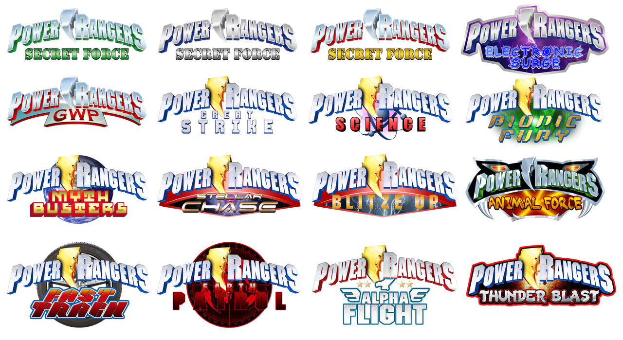 Various custom power rangers logos by akirathefighter24 on deviantart akirathefighter24 various custom power rangers logos by akirathefighter24 buycottarizona