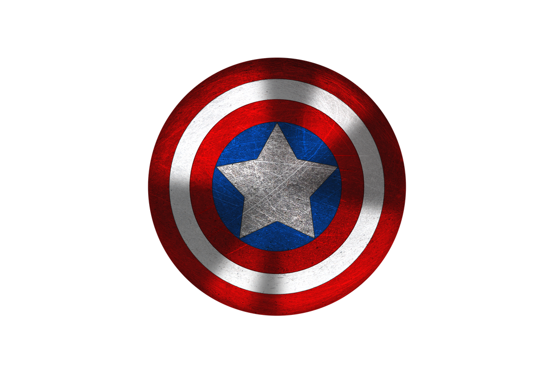 Captain America Shield Drawing: Captain America's Shield Vector (Test) By