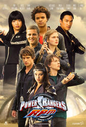 Power Rangers RPM 10th Anniversary Poster (FAKE) by AkiraTheFighter24