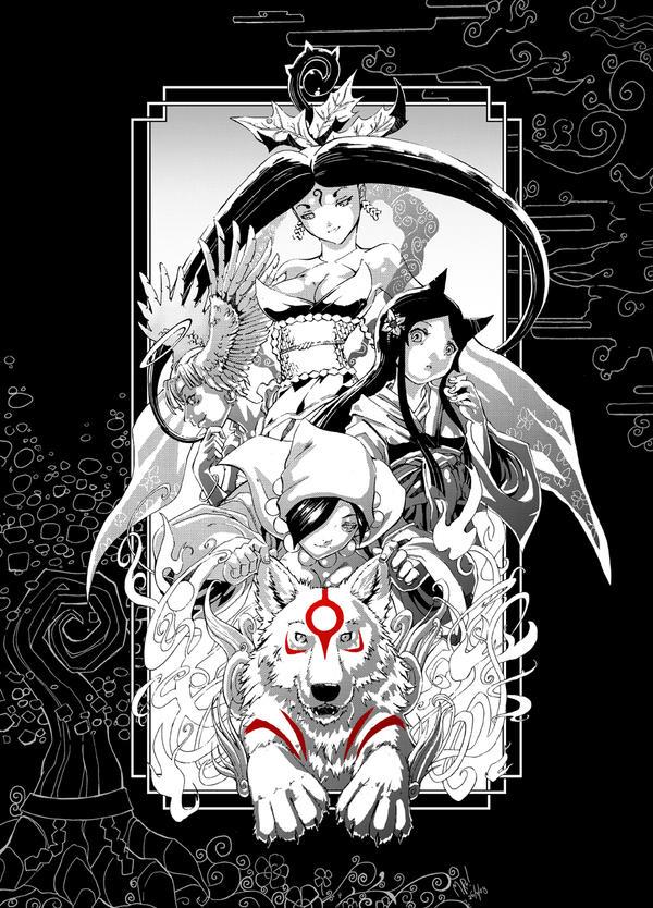 Okami - Celestial Manga Pen by Clockwork7
