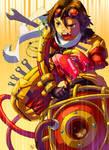Drone Rider Claude by Clockwork7