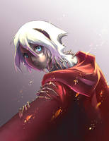 Red Cloak by Clockwork7