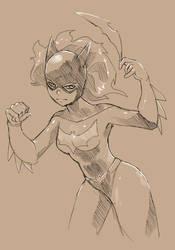 Batgirl by Clockwork7