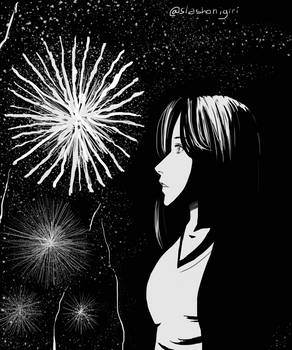 Doodle 10: The fireworks