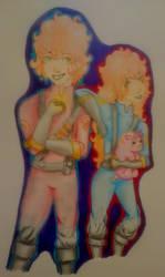 M And F Pyro by vampirehuntersky