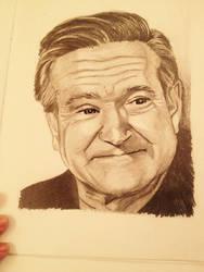 Robin Williams by Mamakazza