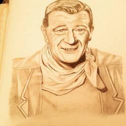 John Wayne by Mamakazza