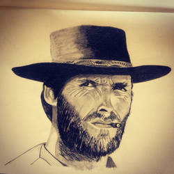 Clint Eastwood by Mamakazza