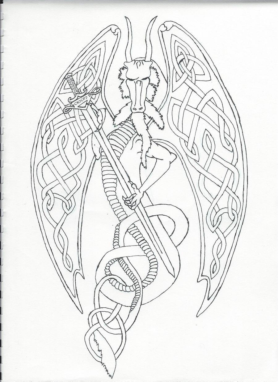 Celtic Dragon by Asmentor on DeviantArt
