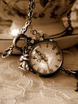 Alice Pocket Watch Necklace