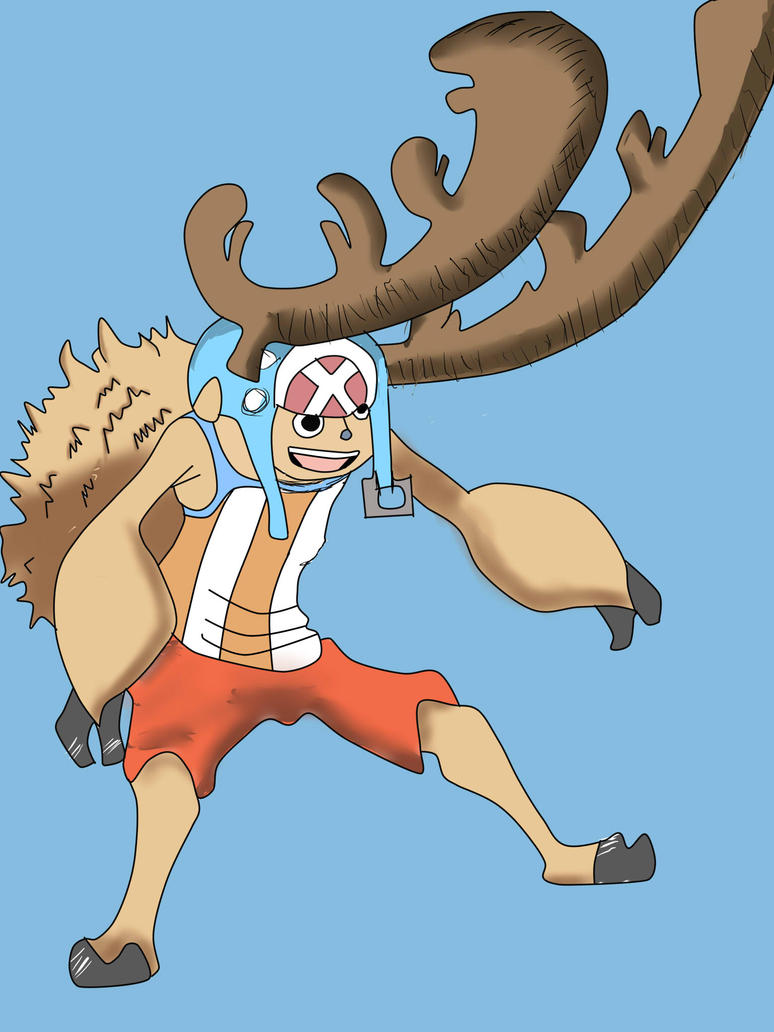 Chopper horn point 2 by tsunayoshi15 on DeviantArt