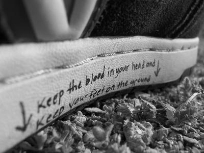 Feet on the Ground Vans by rememberthename