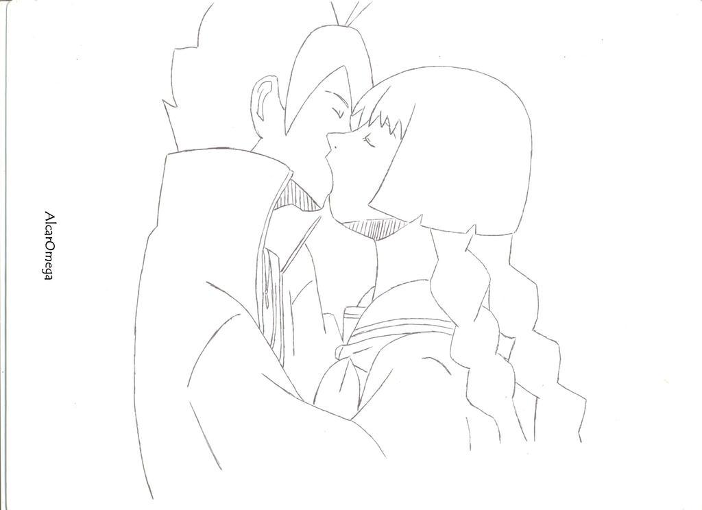 Kiss BoruSumi  (Scanning.) by AlcarOmega