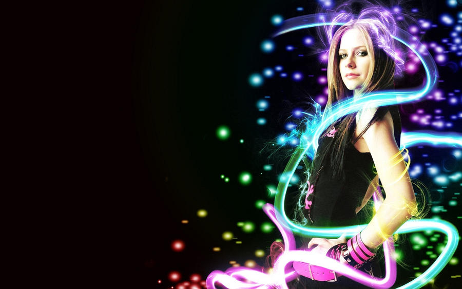 avril lavigne wallpaper 2009. Avril Lavigne Wallpaper 2 by