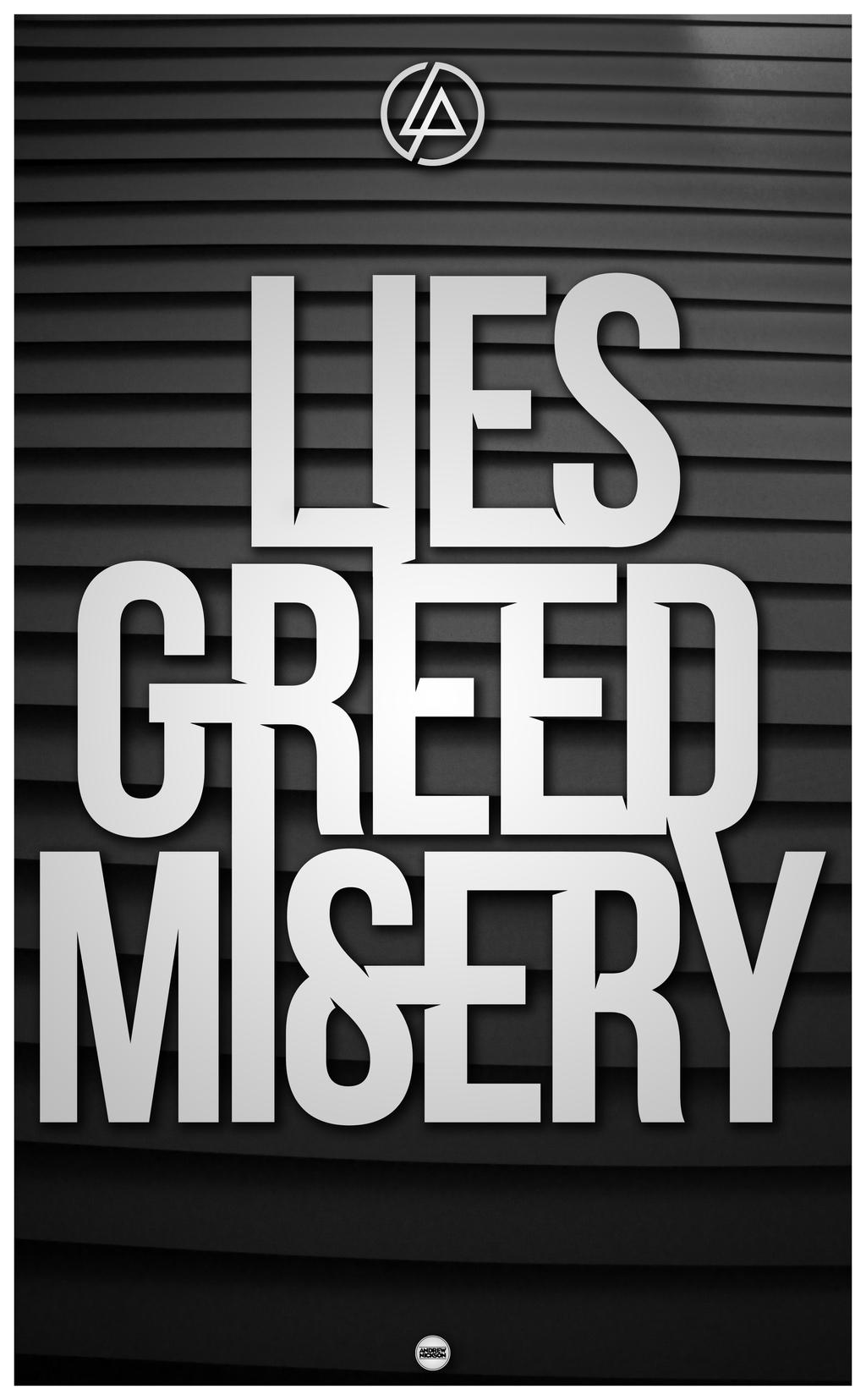 LIES GREED MISERY - Alt. by AndrewNickson