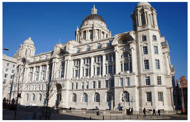 Port of Liverpool Building by AndrewNickson