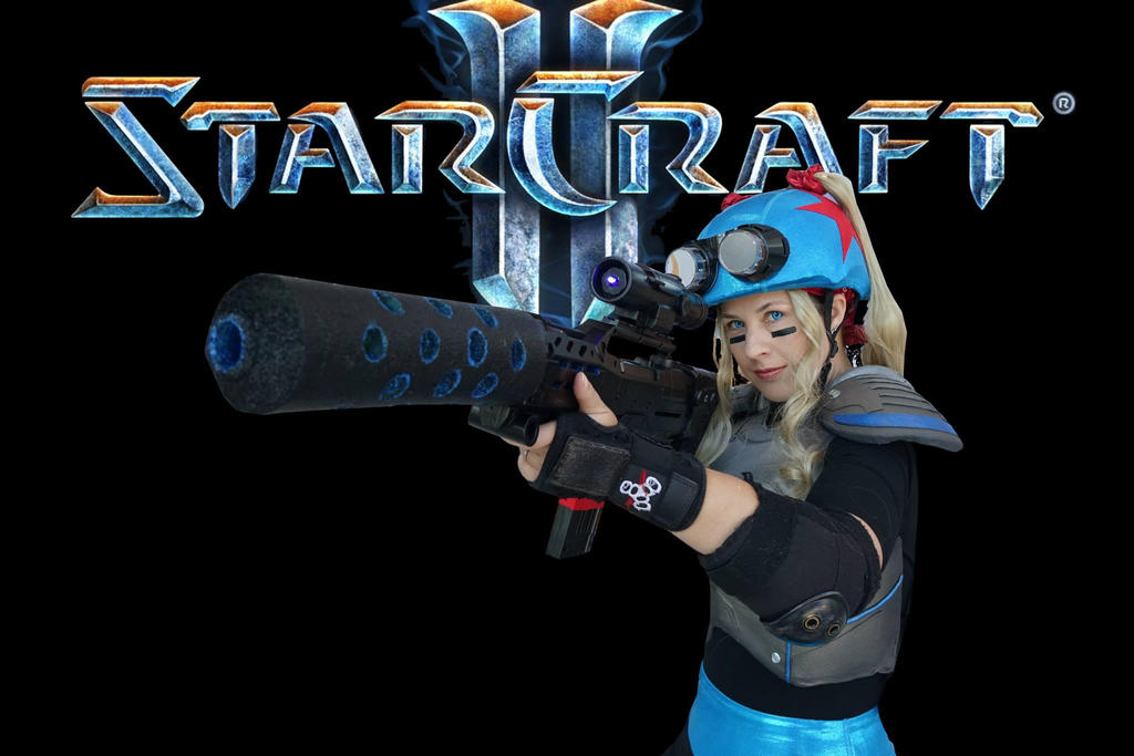 StarCraft Nova Roller Derby Skin by Shyrisss