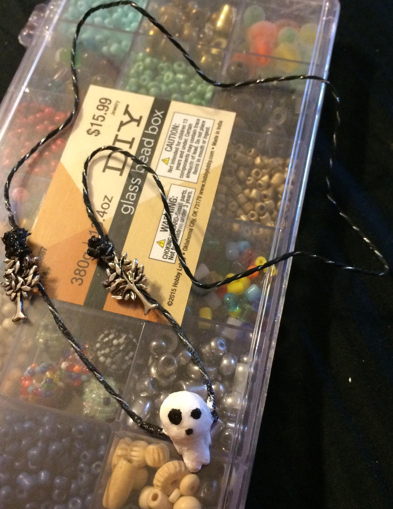 Kodama Necklace by XSlytherinxPrincessX