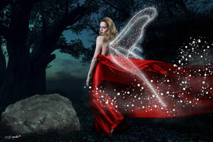 Red gown fairy