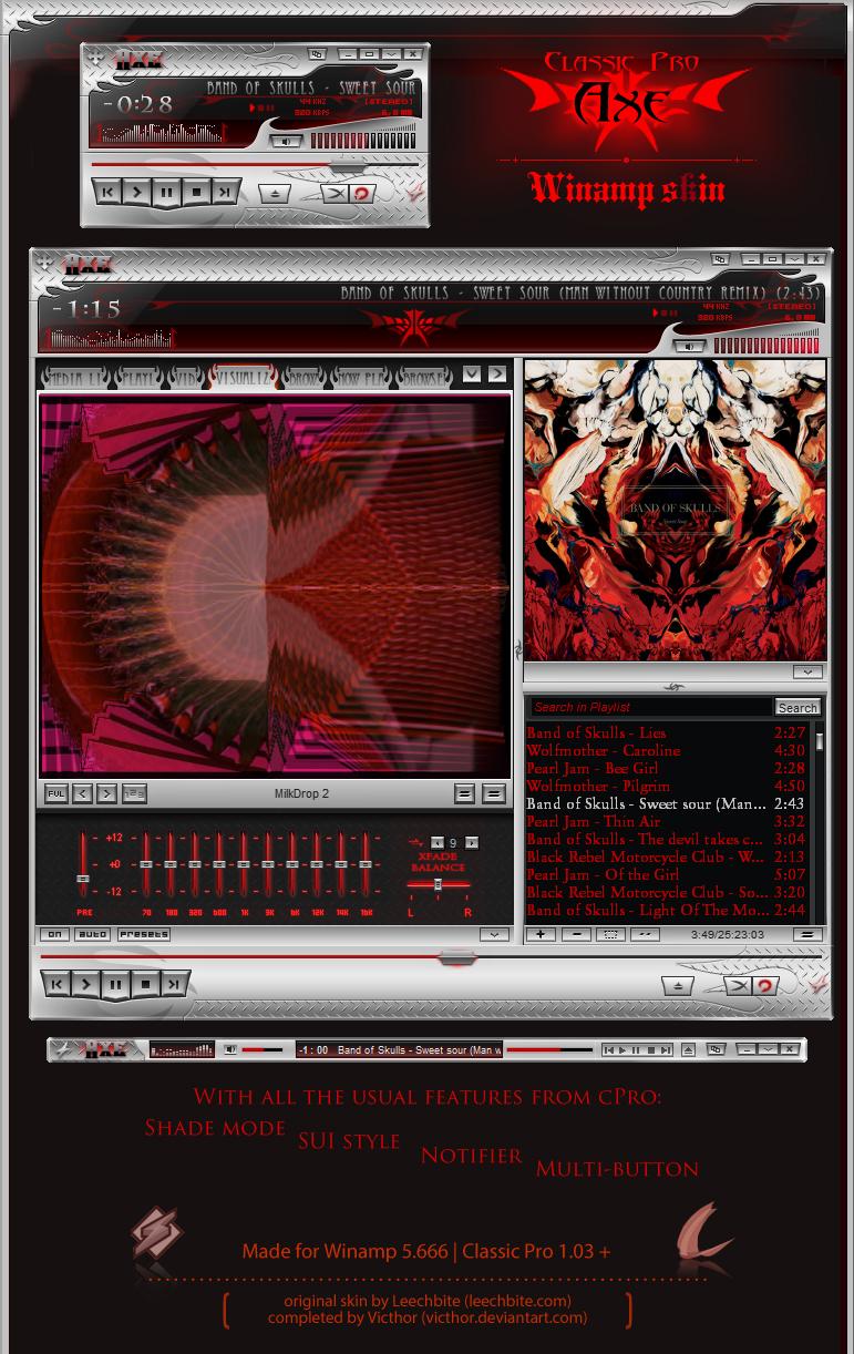 cPro AXE (Leechbite + Victhor collab) by Victhor