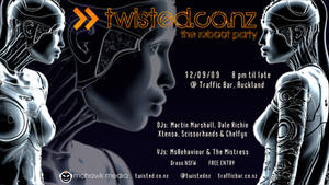 twisted reboot party flyer by Chelfyn