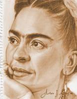 Frida Kahlo by ArturoJMorales